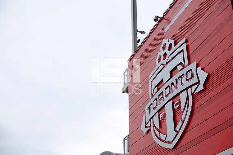 Toronto, ON, Canada - Thursday Dec. 08, 2016: BMO Field during a press conference prior to MLS Cup at BMO Field.