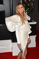 LOS ANGELES, CA - FEBRUARY 10: Heidi Klum at the 61st Annual Grammy Awards at the Staples Center in Los Angeles, California on February 10, 2019. <br /> CAP/MPIFS<br /> &copy;MPIFS/Capital Pictures