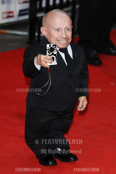 Verne Troyer arriving for the Pride of Britain Awards 2009, held at Grosvenor House, London. 05/10/2009. Picture by: Steve Vas / Featureflash