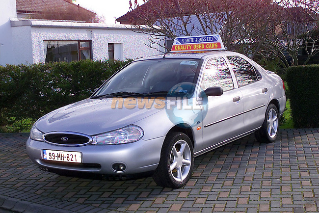 99 MH 821 Mondeo..Picture Fran Caffrey Newsfile.