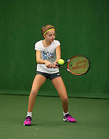 Almere, Netherlands, December 6, 2015, Winter Youth Circuit, Florentine Dekkers (NED)<br /> Photo: Tennisimages/Henk Koster