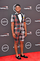 JuJu Smith-Schuster at the 2018 ESPY Awards at the Microsoft Theatre LA Live, Los Angeles, USA 18 July 2018<br /> Picture: Paul Smith/Featureflash/SilverHub 0208 004 5359 sales@silverhubmedia.com