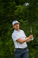Jonas Blixt (SWE) watches his tee shot on 6 during round 2 of the 2019 Charles Schwab Challenge, Colonial Country Club, Ft. Worth, Texas,  USA. 5/24/2019.<br /> Picture: Golffile   Ken Murray<br /> <br /> All photo usage must carry mandatory copyright credit (© Golffile   Ken Murray)