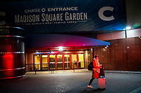 NEW YORK, NY - MARCH 13: External view of the Madison Square Garden as New York Is Shutting Down all Gatherings Over 500 People  due to Coronavirus in New York on March 13, 2020. in New York City. President Donald Trump declared a national state of emergency on Friday, More than 1,600 people have tested positive for the new coronavirus and 41 have died since the first case was reported in January. <br /> (Photo by Eduardo Munoz/ VIEWpress via Getty Images)