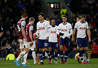 7th March 2020; Turf Moor, Burnley, Lanchashire, England; English Premier League Football, Burnley versus Tottenham Hotspur; Dele Alli of Tottenham Hotspur walks to the penalty spot after referee Jonathan Moss awards them a penalty in the second half