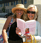 Guiding Light's Beth Chamberlin - Tina Sloan - Liz Keifer check out Tina's new book Changing Shoes - Day 2 - August 1, 2010 - So Long Springfield at Sea - A day in port in Saint John, New Brunswick, Canada from the Carnival's Glory (Photos by Sue Coflin/Max Photos)
