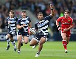 Johnny Leota of Sale Sharks - European Rugby Champions Cup - Sale Sharks vs Munster -  AJ Bell Stadium - Salford- England - 18th October 2014  - Picture Simon Bellis/Sportimage