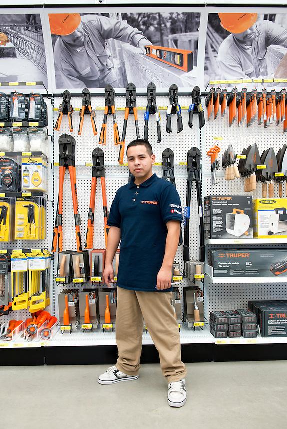 Ramon Bravo Zepeda. Hardware store owners in Tijuana, Baja California, Mexico