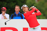 Minjee Lee (AUS) on the 2nd tee during Round 2 of the Ricoh Women's British Open at Royal Lytham &amp; St. Annes on Friday 3rd August 2018.<br /> Picture:  Thos Caffrey / Golffile<br /> <br /> All photo usage must carry mandatory copyright credit (&copy; Golffile | Thos Caffrey)