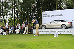 Martin Kaymer (GER) tees off on the par3 17th tee during Day 1 of the BMW International Open at Golf Club Munchen Eichenried, Germany, 23rd June 2011 (Photo Eoin Clarke/www.golffile.ie)