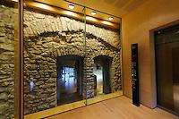 Fahrstuhl im Musée Histoire de la Ville, Stadt Luxemburg, Luxemburg