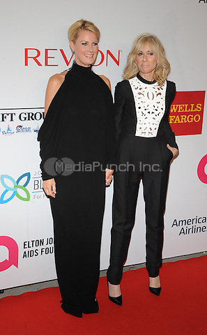 New York,NY- October 28: Sandra Lee, Judith Light attends the Elton John AIDS Foundation's 13th Annual An Enduring Vision Benefit at Cipriani Wall Street on October 28, 2014 in New York City In New York City on October 27, 2014 . Credit: John Palmer/MediaPunch