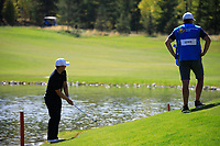 Tom Lewis (ENG) during the final round of the Kazakhstan Open presented by ERG played at Zhailjau Golf Resort, Almaty, Kazakhstan. 16/09/2018<br /> Picture: Golffile   Phil Inglis<br /> <br /> All photo usage must carry mandatory copyright credit (&copy; Golffile   Phil Inglis)