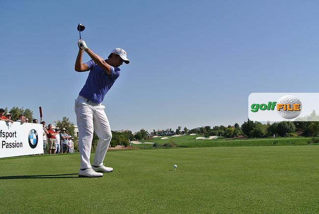 Matteo Manassero (ITA) on the second day of the DUBAI WORLD CHAMPIONSHIP presented by DP World, Jumeirah Golf Estates, Dubai, United Arab Emirates.Picture Fran Caffrey www.golffile.ie
