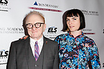 Peter Asher and Victoria Asher attend the Recording Academy Producers & Engineers Wing event honoring Alicia Keys and Swizz Beatz at 30 Rockefeller Plaza in New York City, during Grammy Week on January 25, 2018.