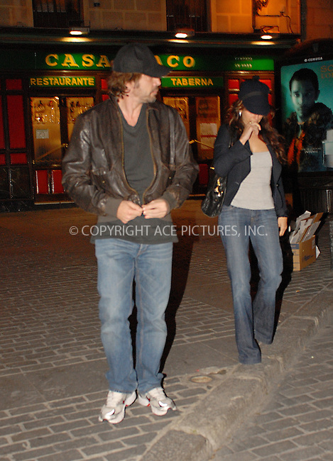 WWW.ACEPIXS.COM . . . . .  ..... . . . . US SALES ONLY . . . . .....Actors Javier Bardem and Penelope Cruz were out in Madrid on April 15 2009 in Spain....Please byline: JO-ACE PICTURES... . . . .  ....Ace Pictures, Inc:  ..tel: (212) 243 8787 or (646) 769 0430..e-mail: info@acepixs.com..web: http://www.acepixs.com