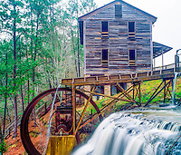 Dun's Falls Mill along Chunky River, Near Meridian, Mississippi