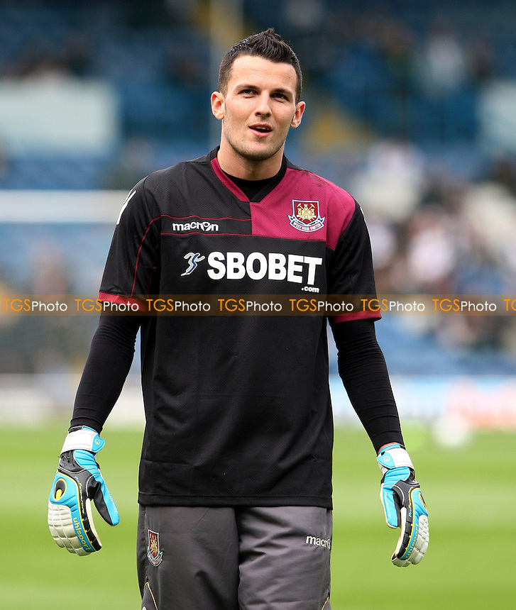 West Ham's new signing Stephen Henderson - Leeds United vs West Ham United, npower Championship at Elland Road, Leeds - 17/03/12 - MANDATORY CREDIT: Rob Newell/TGSPHOTO - Self billing applies where appropriate - 0845 094 6026 - contact@tgsphoto.co.uk - NO UNPAID USE..