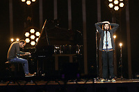 Salvador Sobral (Portugal) <br /> Eurovision Song Contest Grand Final dress rehearsal, Lisbon, Portugal on May 11 2018.<br /> CAP/PER<br /> &copy;PER/CapitalPictures
