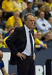 15.05.2018, EWE Arena, Oldenburg, GER, BBL, Playoff, Viertelfinale Spiel 4, EWE Baskets Oldenburg vs ALBA Berlin, im Bild<br /> <br /> Aito Garcia RENESES (ALBA Berlin #Headcoach, #Trainer)<br /> Foto &copy; nordphoto / Rojahn