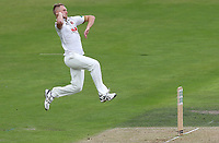 Jamie Porter of Essex in bowling action during Nottinghamshire CCC vs Essex CCC, Specsavers County Championship Division 1 Cricket at Trent Bridge on 11th September 2018