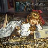 CHILDREN, KINDER, NIÑOS, paintings+++++,USLGSK0009,#K#, EVERYDAY ,Sandra Kock, victorian