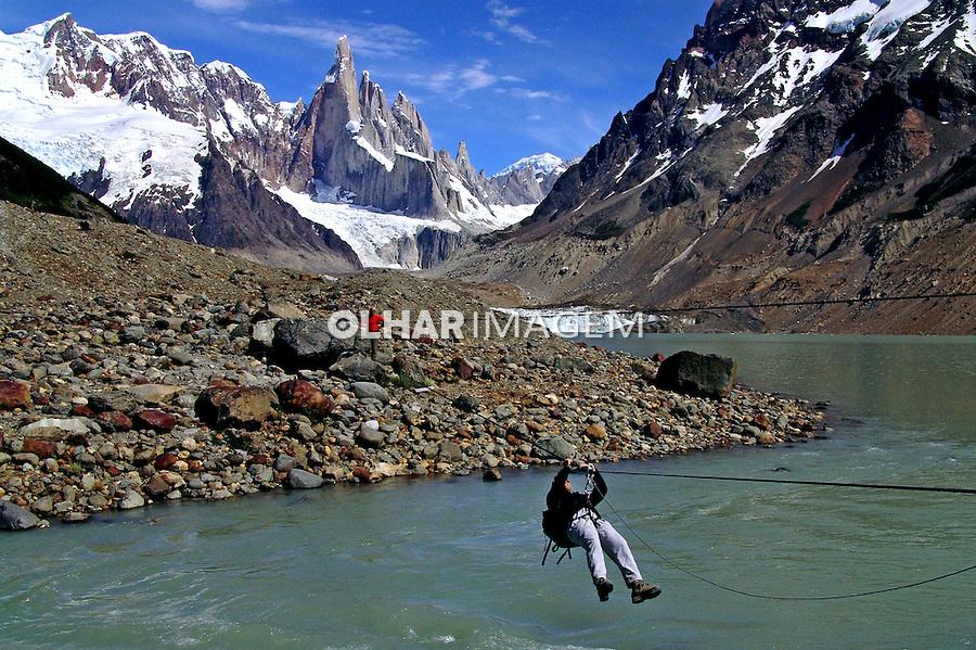 Parque Nacional Los Glaciares. Glaciar Cerro Torre. Argentina. 2005. Foto de Caio Vilela.