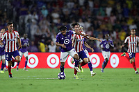 Orlando, Florida - Wednesday July 31, 2019: The MLS All-Stars played Club Atletico de Madrid during the MLS All-Star Game at Exploria Stadium.