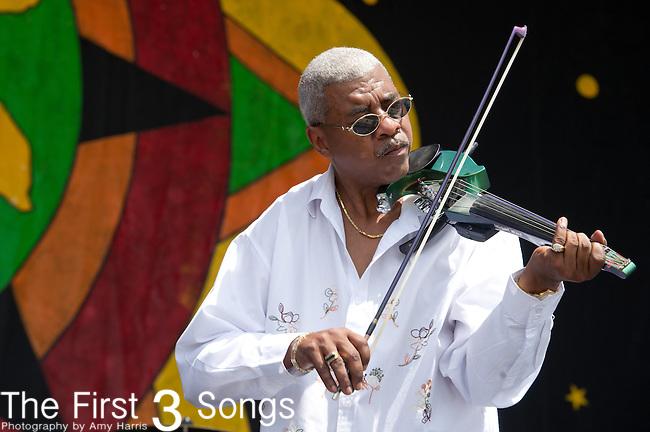 Michael Ward performs during the New Orleans Jazz & Heritage Festival in New Orleans, LA.