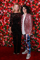 NEW YORK, NY - JUNE 10: Joan Allen and  Tina Landau   at the 72nd Annual Tony Awards at Radio City Music Hall in New York City on June 10, 2018.