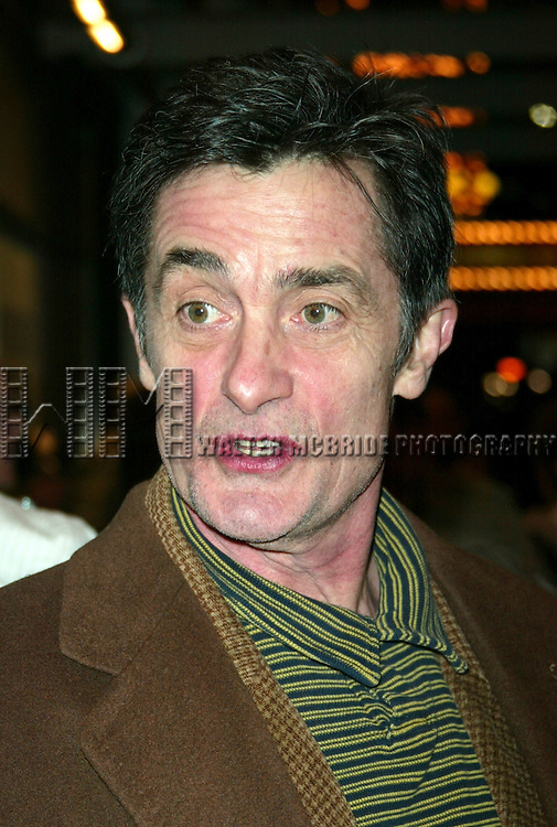 Roger Rees attending the Opening Night of the Roundabout Theatre <br /> Company's TARTUFFE <br /> American Airlines Theatre<br /> New York City<br /> January 9, 2003