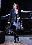 YOSHIKI, Mar 16, 2015 : XJapan attends opening party of the Mercedes-Benz Fashion Week Tokyo 2015-16 A/W in Tokyo Japan 16 Mar 2015. (Photo by AFLO)
