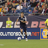 New England Revolution midfielder Marko Perovic (29). The New England Revolution defeated the New York Red Bulls, 3-2, at Gillette Stadium on May 29, 2010.