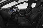 Front seat view of a 2018 Tesla Model X 100D 5 Door SUV front seat car photos