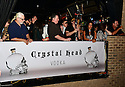 FORT LAUDERDALE, FL - MARCH 20: General view of fans waiting in line during Dan Aykroyd meets, greets of fans and bottle signing of Special Crystal Head Vodka bottle at Stache Lounge on Friday March 20, 2015 in Fort Lauderdale, Florida. <br /> ( Photo by Johnny Louis / jlnphotography.com )