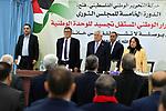 alestinian President Mahmoud Abbas chairs the revolutionary council meeting of Fatah movement at the Palestinian Presidential Office in the West Bank city of Ramallah, February 6, 2019. Photo by Thaer Ganaim