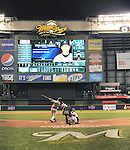 Masahiro Tanaka (Yankees),<br /> MAY 9, 2014 - MLB :<br /> Masahiro Tanaka of the New York Yankees bats in the seventh inning during the Major League Baseball game against the Milwaukee Brewers at Miller Park in Milwaukee, Wisconsin, United States. (Photo by AFLO)