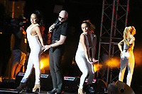 PHILADELPHIA, PA - JULY 4 :  Pitbull headlines the Wawa Welcomes America July 4th Concert &amp; Fireworks on the Benjamin Franklin Parkway in Philadelphia, Pa on July 4, 2018  <br /> CAP/MPI/STA<br /> &copy;STA/MPI/Capital Pictures