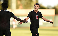 Stanford, Ca - September 9, 2019: The Stanford Cardinal vs UC Irvine Anteaters men's soccer match at Cagan Stadium in Stanford, California. Final score, Stanford 1, UC Irvine 0.