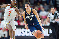 NCAA WOMEN'S BASKETBALL: UConn vs Maryland