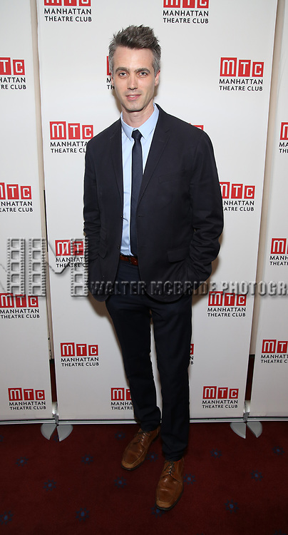 Abe Koogler attends the Opening Night photo call for 'Fulfillment Center' at New York City Center – Stage II on June 20, 2017 in New York City.