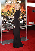 WESTWOOD, CA - OCTOBER 08: Actress Natalie Hall arrives at the Premiere Of Columbia Pictures' 'Only The Brave' at Regency Village Theatre on October 8, 2017 in Westwood, California.<br /> CAP/ROT/TM<br /> &copy;TM/ROT/Capital Pictures