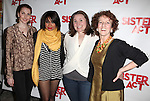 Marla Mindelle, Sarah Bolt & Audrie Neenan with Raven-Symone as she celebrates her Broadway Debut in 'Sister Act' at Ava Lounge in the Dream Hotel in New York City on 3/27/2012.