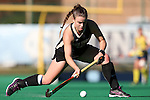 14 November 2015: Wake Forest's Shannon Eby (CAN). The Wake Forest University Demon Deacons played the University of Michigan Wolverines at Francis E. Henry Stadium in Chapel Hill, North Carolina in a 2015 NCAA Division I Field Hockey Tournament First Round match. Michigan won the game 2-1.