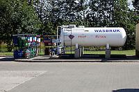 Large gas storage tank. Rawa Mazowiecka Central Poland
