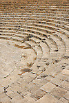 Greco-Roman amphitheatre at Kourion Archaeological Site in Cyprus