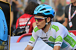 White Jersey Miguel Angel Lopez Moreno (COL) Astana Pro Team crosses the finish line at the end of Stage 4 of La Vuelta 2019 running 175.5km from Cullera to El Puig, Spain. 27th August 2019.<br /> Picture: Eoin Clarke | Cyclefile<br /> <br /> All photos usage must carry mandatory copyright credit (© Cyclefile | Eoin Clarke)