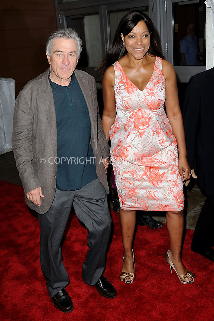 WWW.ACEPIXS.COM . . . . . .April 19, 2013...New York City....Robert De Niro and Grace Hightower attend the ESPN and Tribeca Film Festival Screening of Big Shot on April 19, 2013 in New York City. ....Please byline: KRISTIN CALLAHAN - WWW.ACEPIXS.COM.. . . . . . ..Ace Pictures, Inc: ..tel: (212) 243 8787 or (646) 769 0430..e-mail: info@acepixs.com..web: http://www.acepixs.com .