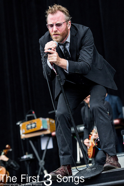 Matt Berninger of The National performs at the Outside Lands Music & Art Festival at Golden Gate Park in San Francisco, California.