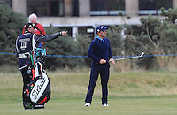 Paul Dunne (IRL) on the 17th fairway during Round 4 of the 2015 Alfred Dunhill Links Championship at the Old Course in St. Andrews in Scotland on 4/10/15.<br /> Picture: Thos Caffrey | Golffile